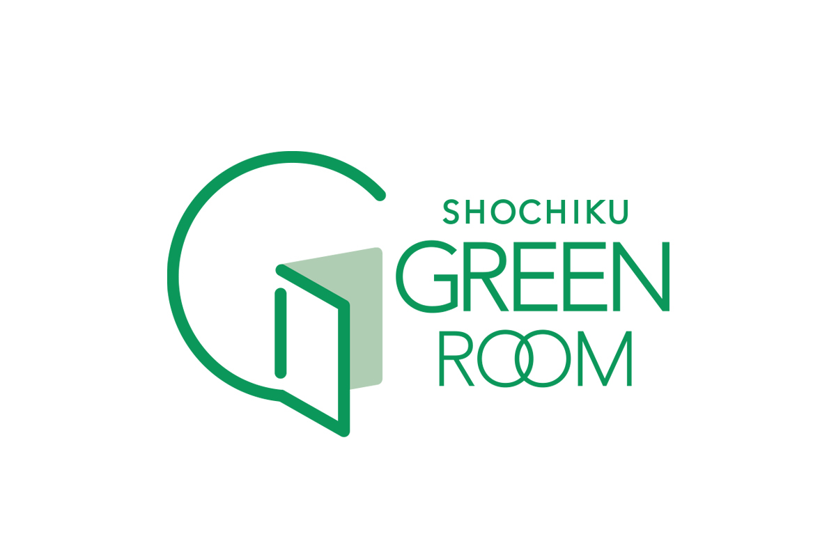 SHOUCHIKU GREENROOM LOGOMARK